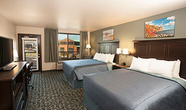 accessible rooms in Park Point Marina Inn  offer the same comfort and convenience as other rooms